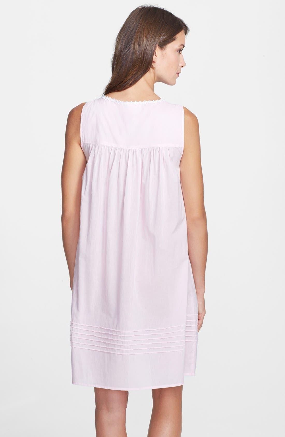 Alternate Image 2  - Eileen West 'Dolce Vita' Short Nightgown