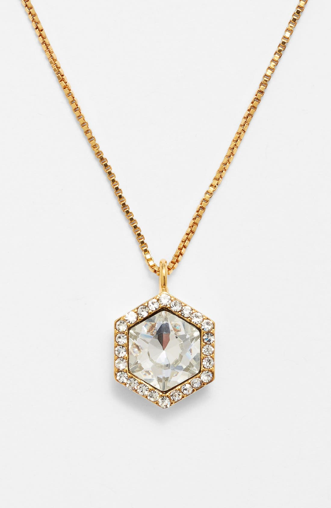 Main Image - Vince Camuto 'Diamonds in the Sky' Crystal Pendant Necklace