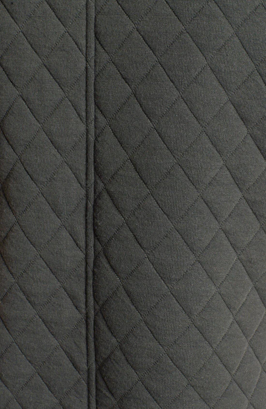 Alternate Image 3  - ASTR Quilted Fleece Moto Vest