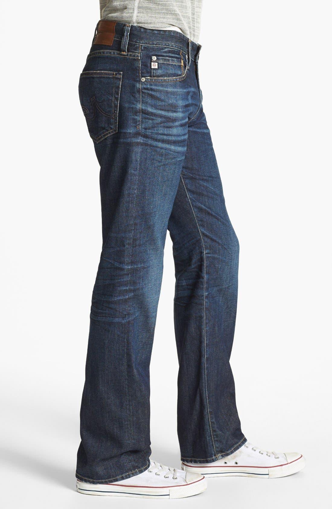 Alternate Image 3  - AG 'Protégé' Straight Leg Jeans (5 Year Lounge)
