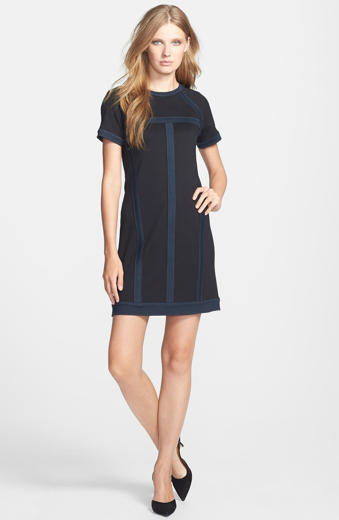 Alternate Image 1 Selected - MARC BY MARC JACOBS 'Connie' Ponte Shift Dress