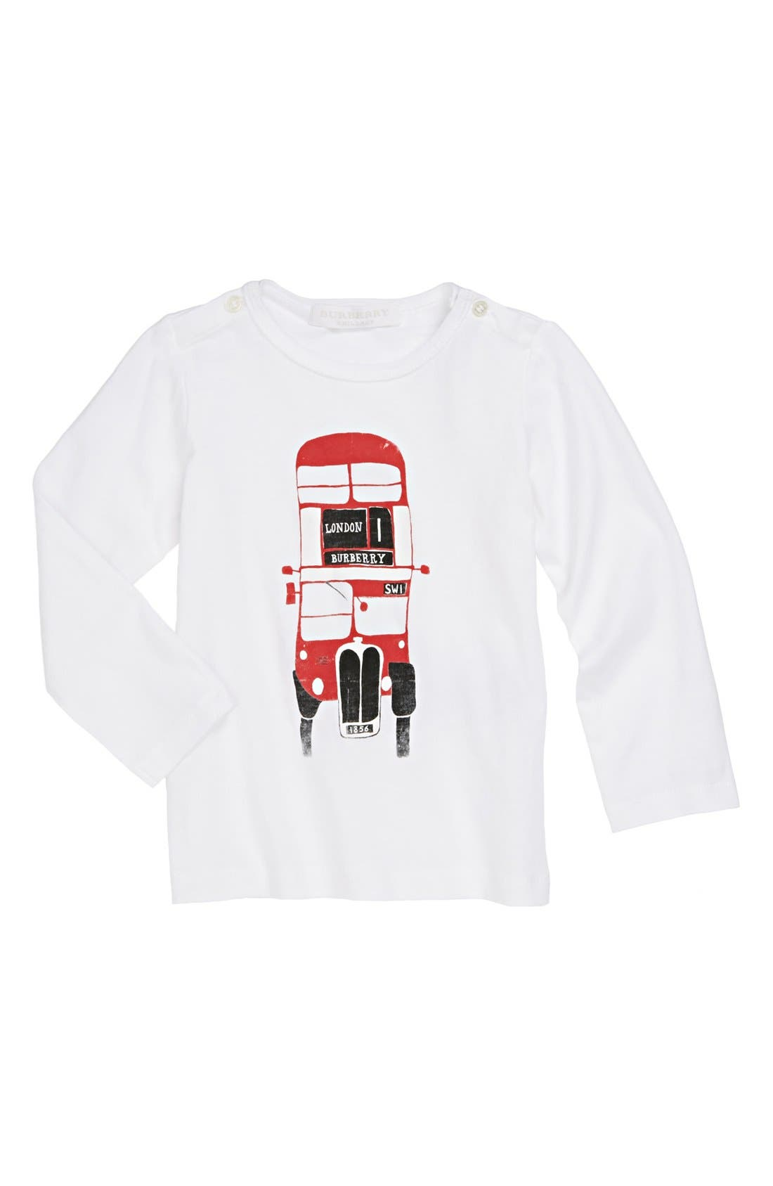 Alternate Image 1 Selected - Burberry Graphic T-Shirt (Toddler Boys)