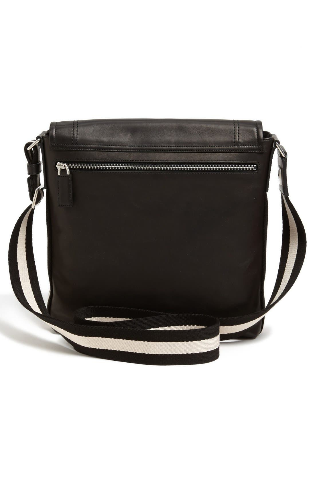 Alternate Image 2  - Bally 'Small Triar Plain' Calfskin Messenger Bag