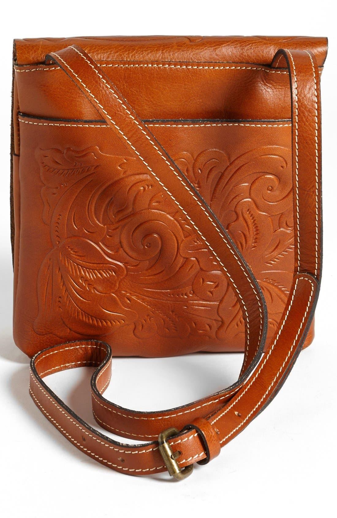 Alternate Image 3  - Patricia Nash 'Granada' Embossed Leather Crossbody Bag