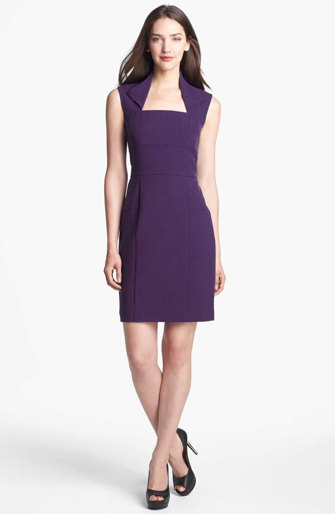 Alternate Image 1 Selected - Marc New York by Andrew Marc Seamed Sheath Dress
