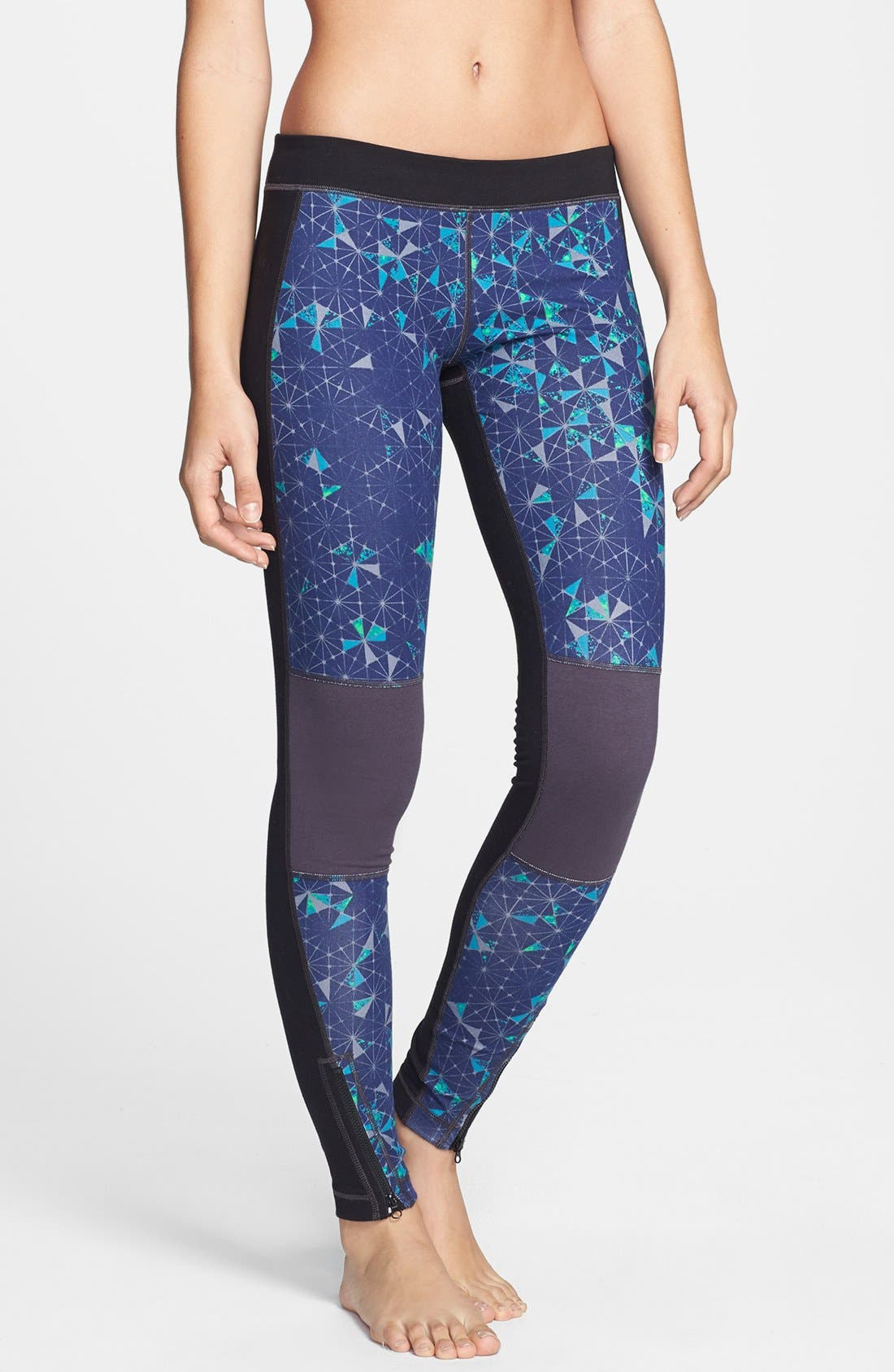 Alternate Image 1 Selected - Unit-Y 'Distance' Printed Leggings