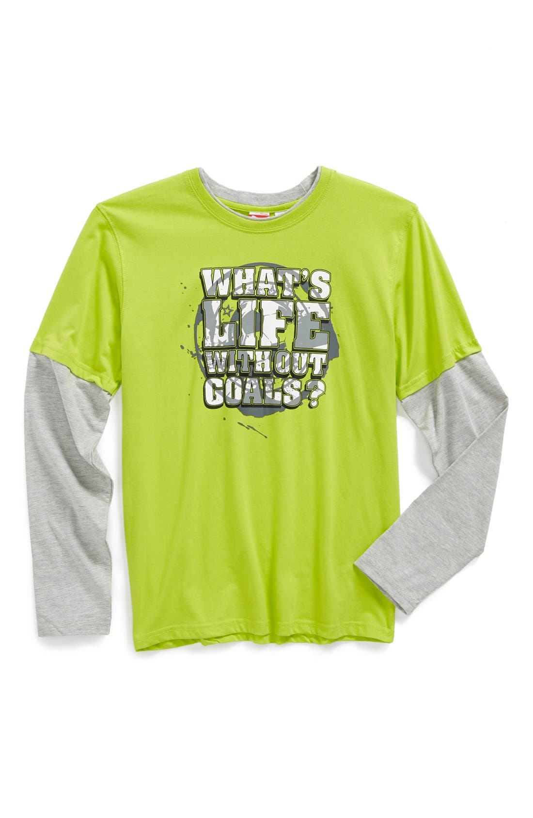 Main Image - PUMA 'What's Life Without Goals?' Graphic T-Shirt (Big Boys)