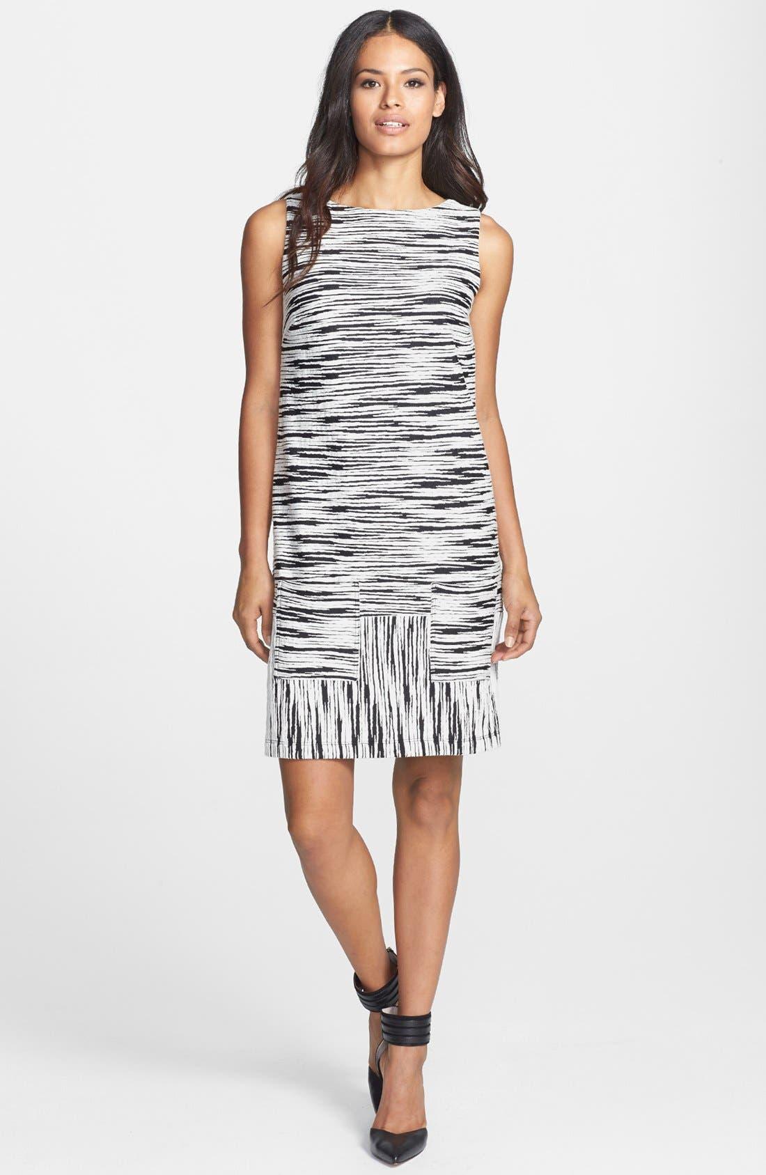 Alternate Image 2  - Isaac Mizrahi New York Print Cotton Jersey Dress