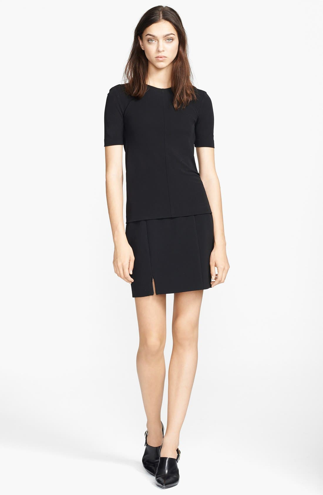 Alternate Image 3  - T by Alexander Wang Techno Pencil Skirt