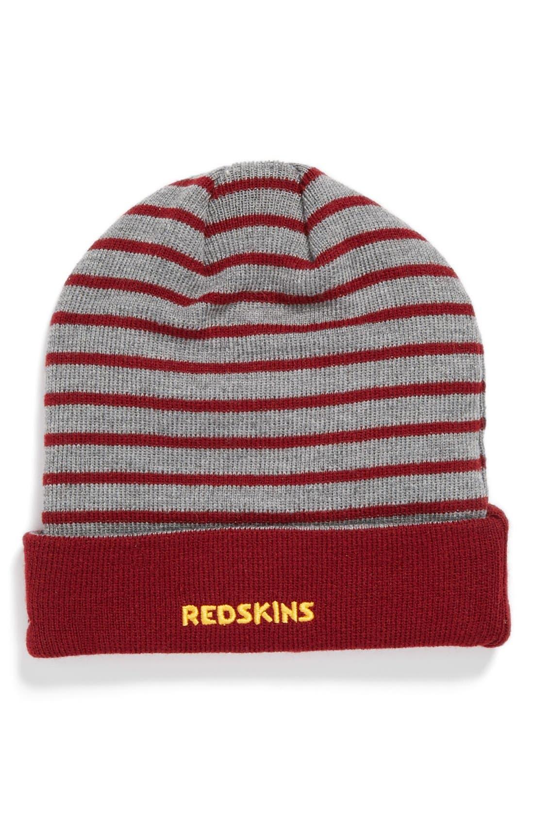 Alternate Image 2  - New Era Cap 'H Stripe - Washington Redskins' Knit Cap
