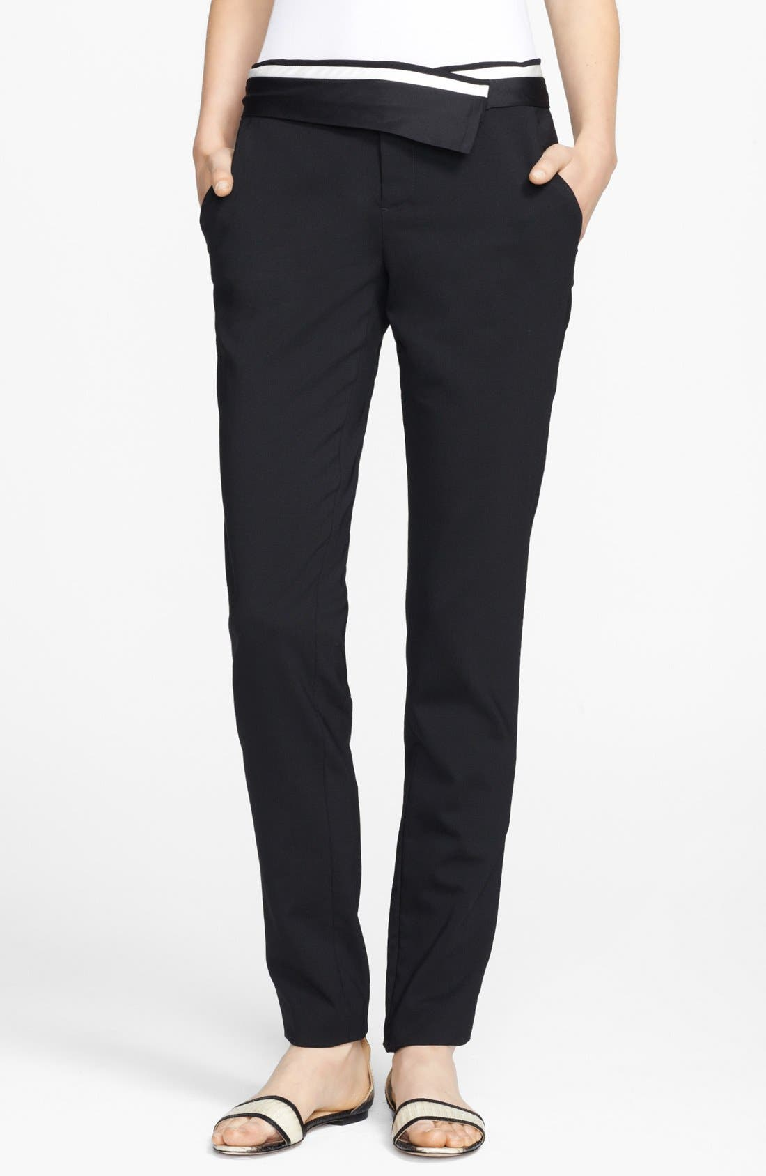Alternate Image 1 Selected - A.L.C. 'Guy' Wool Pants
