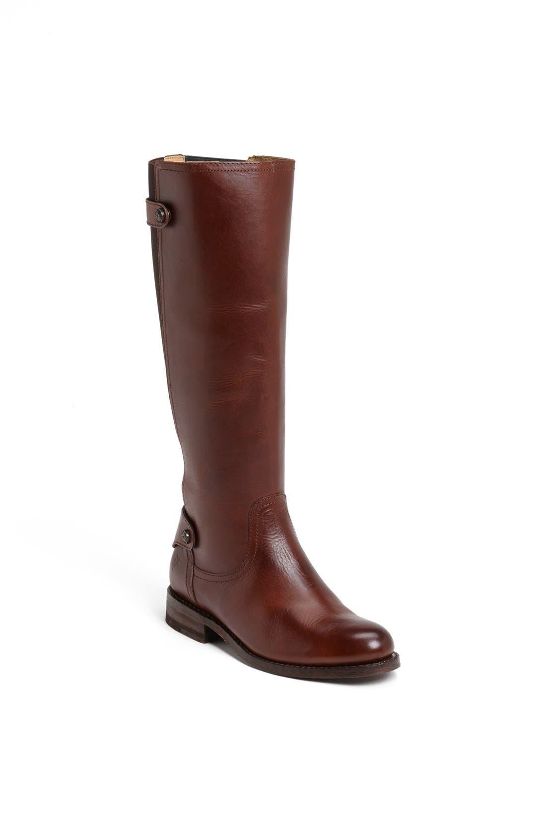 Alternate Image 1 Selected - Frye 'Jayden' Back Gore Leather Boot