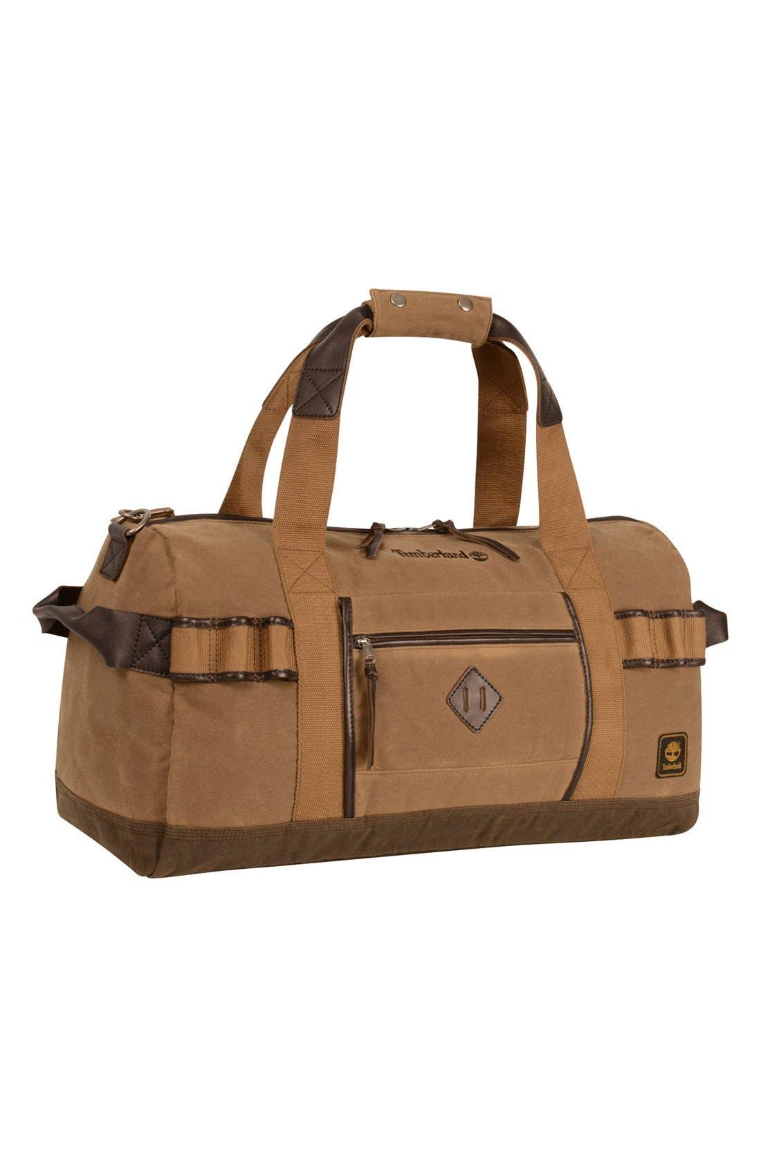 'Madison' Duffel Bag,                             Main thumbnail 1, color,                             Tan/ Brown