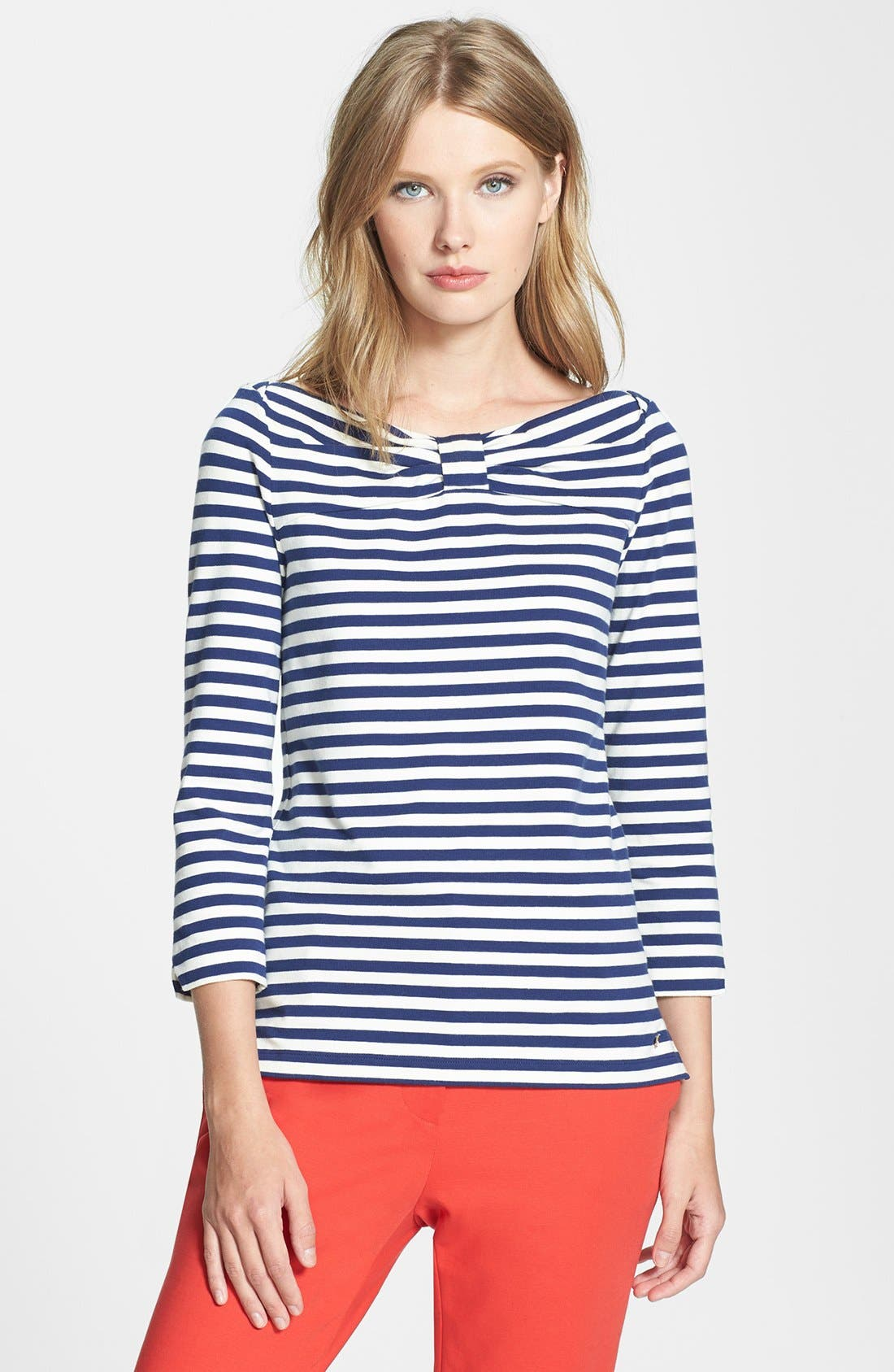 Main Image - kate spade new york 'wheaton' stretch cotton top