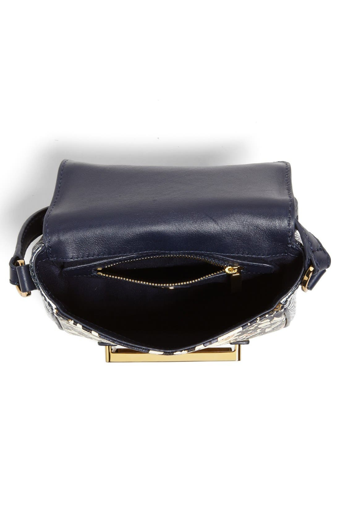 Alternate Image 3  - Tory Burch 'Jeweled' Leather Crossbody Bag