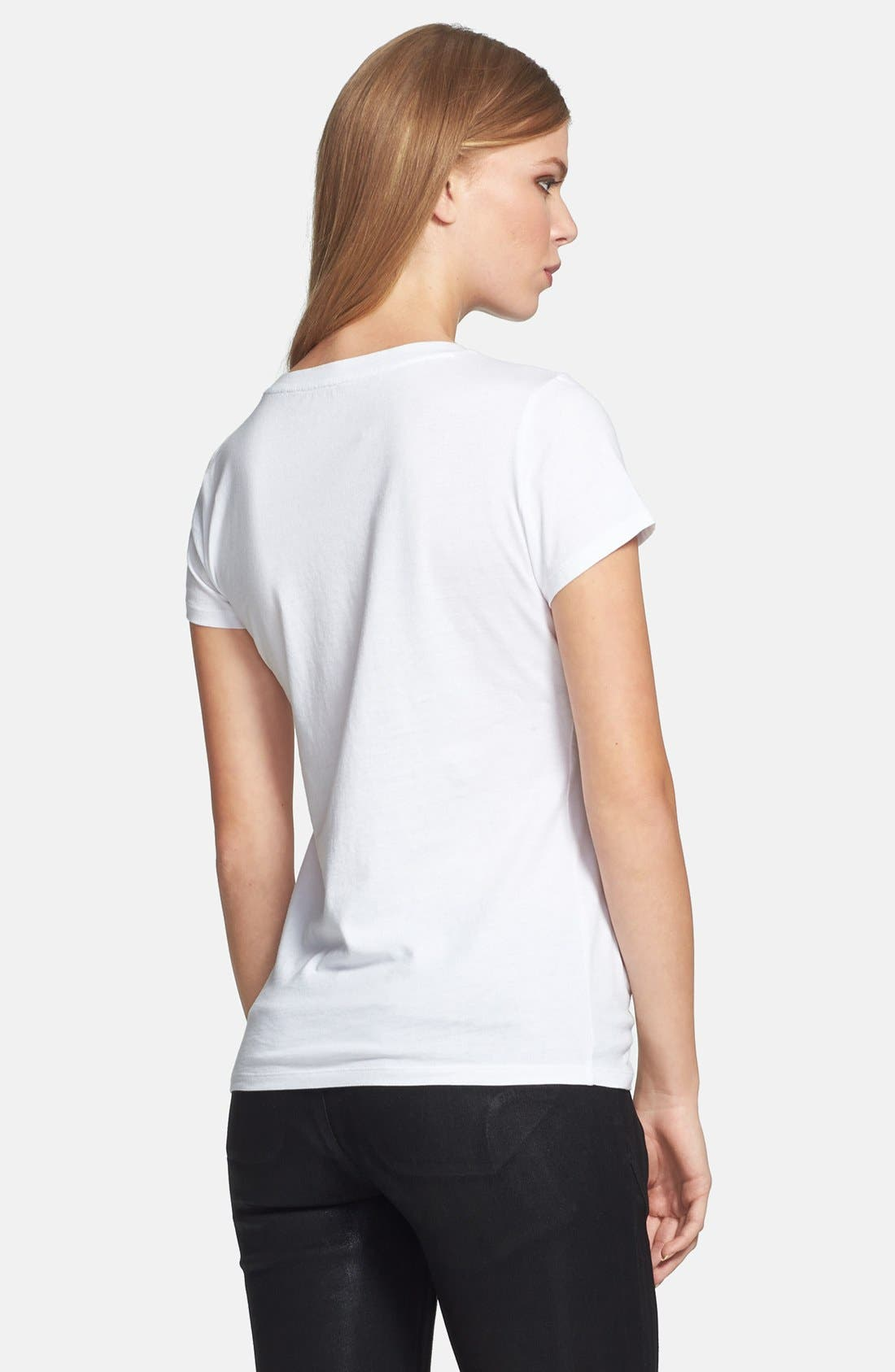 Alternate Image 2  - MICHAEL Michael Kors 'Photoshoot' Logo Tee (Regular & Petite)