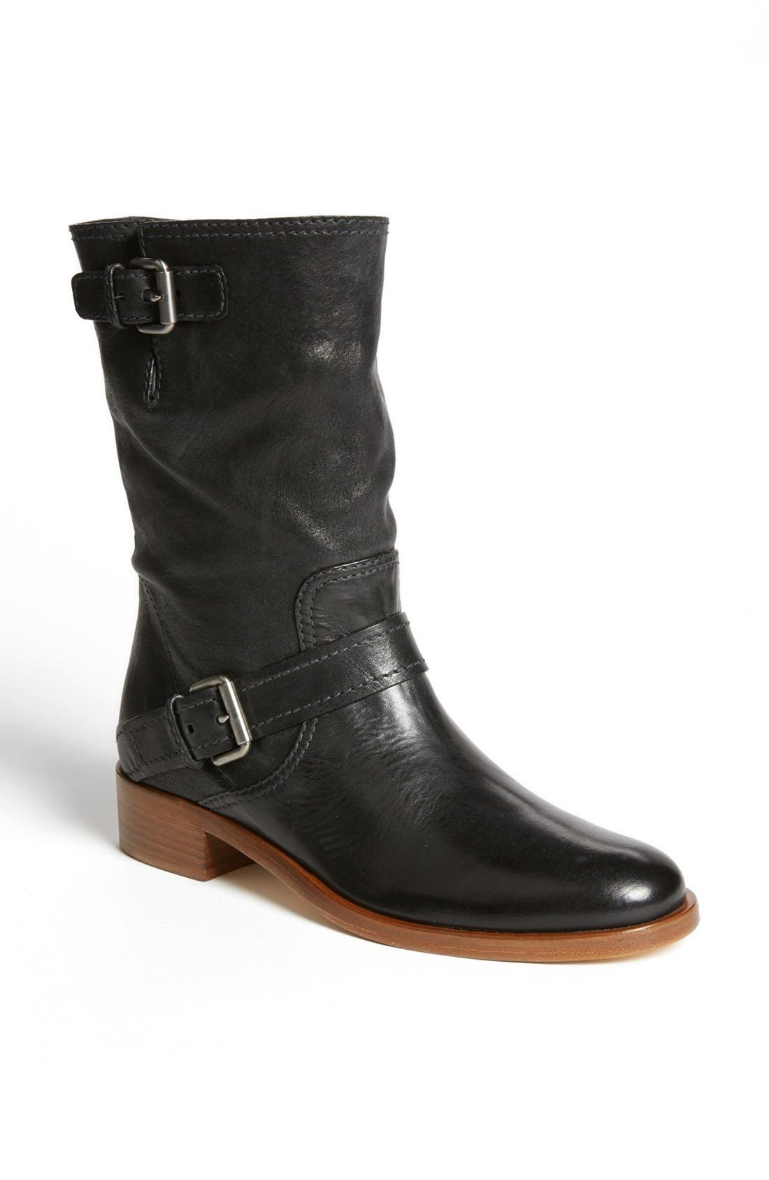 Alternate Image 1 Selected - Miu Miu Double Buckle Short Boot