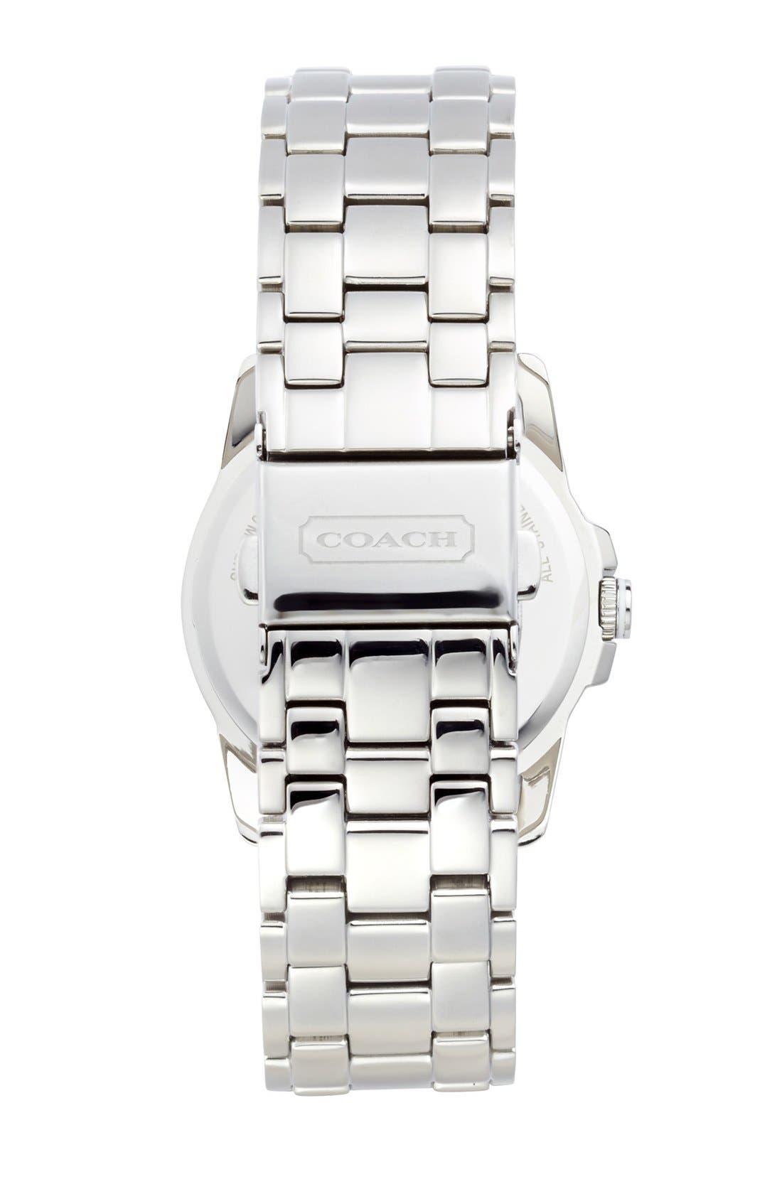 Alternate Image 2  - COACH 'Sydney' Round Bracelet Watch, 32mm