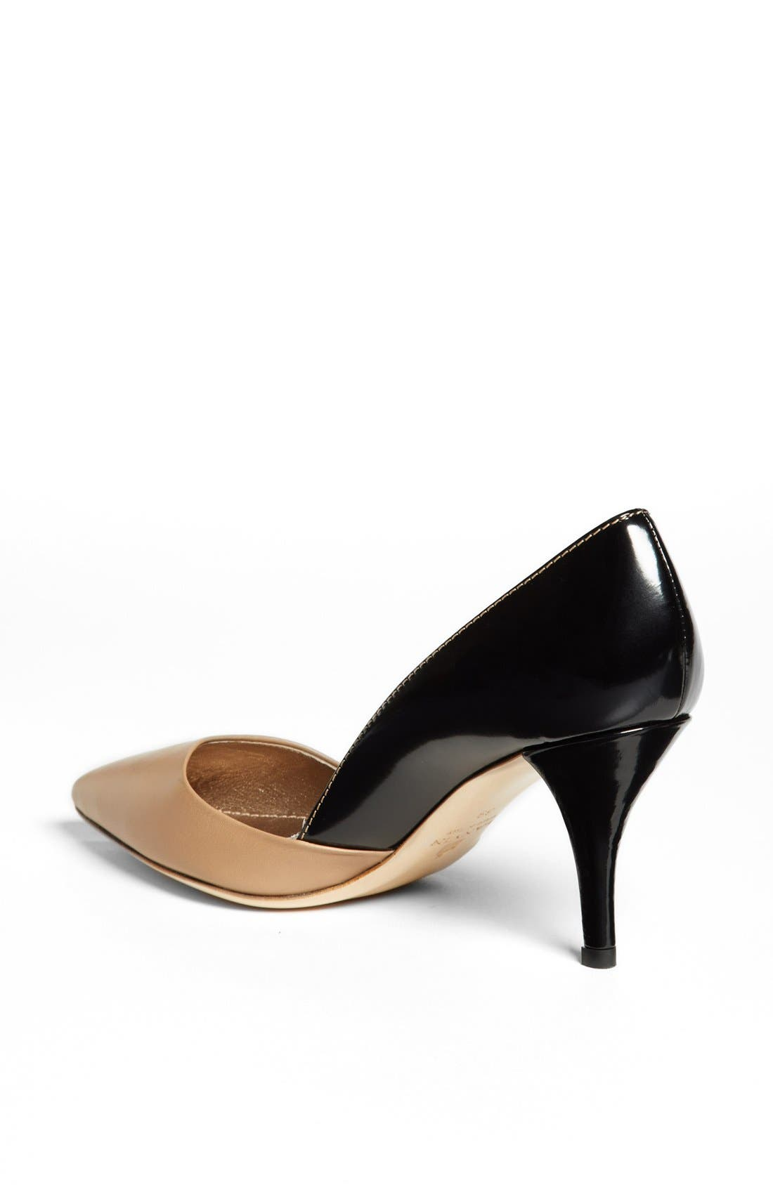 Alternate Image 2  - Lanvin Bicolor Pointy Toe Pump