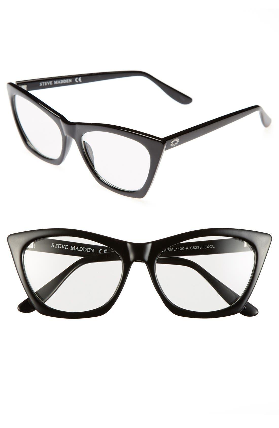 Alternate Image 1 Selected - Steve Madden Retro Fashion Glasses