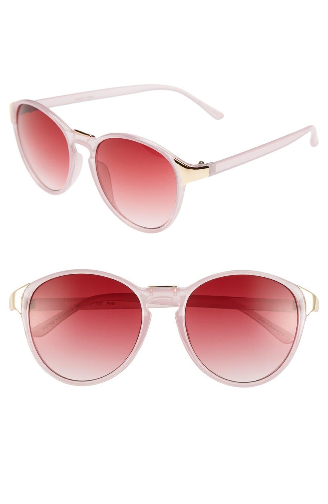Alternate Image 1 Selected - Outlook Eyewear 'Credit' 54mm Sunglasses