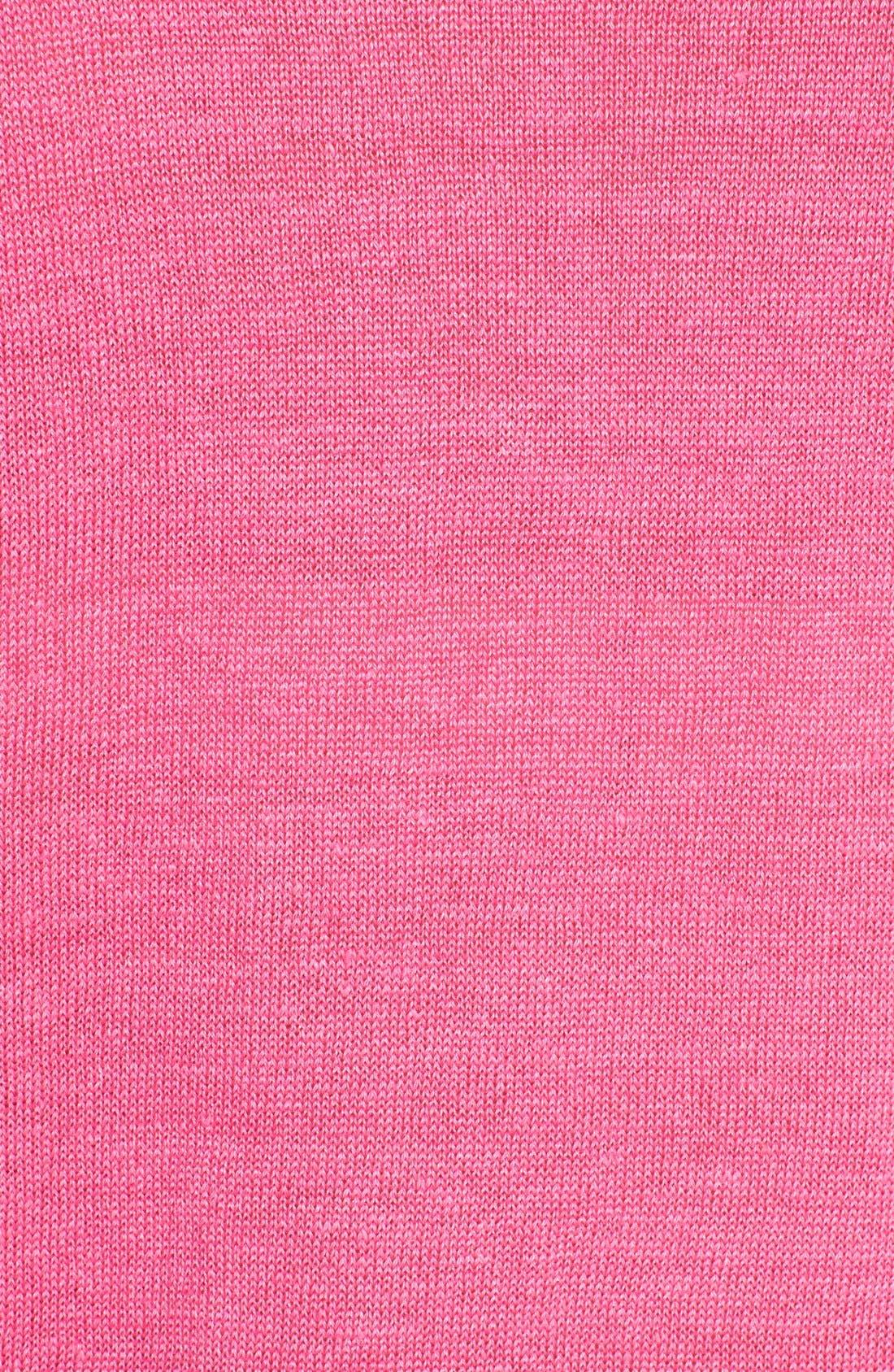Alternate Image 3  - Lafayette 148 New York Oversized Linen V-Neck Sweater