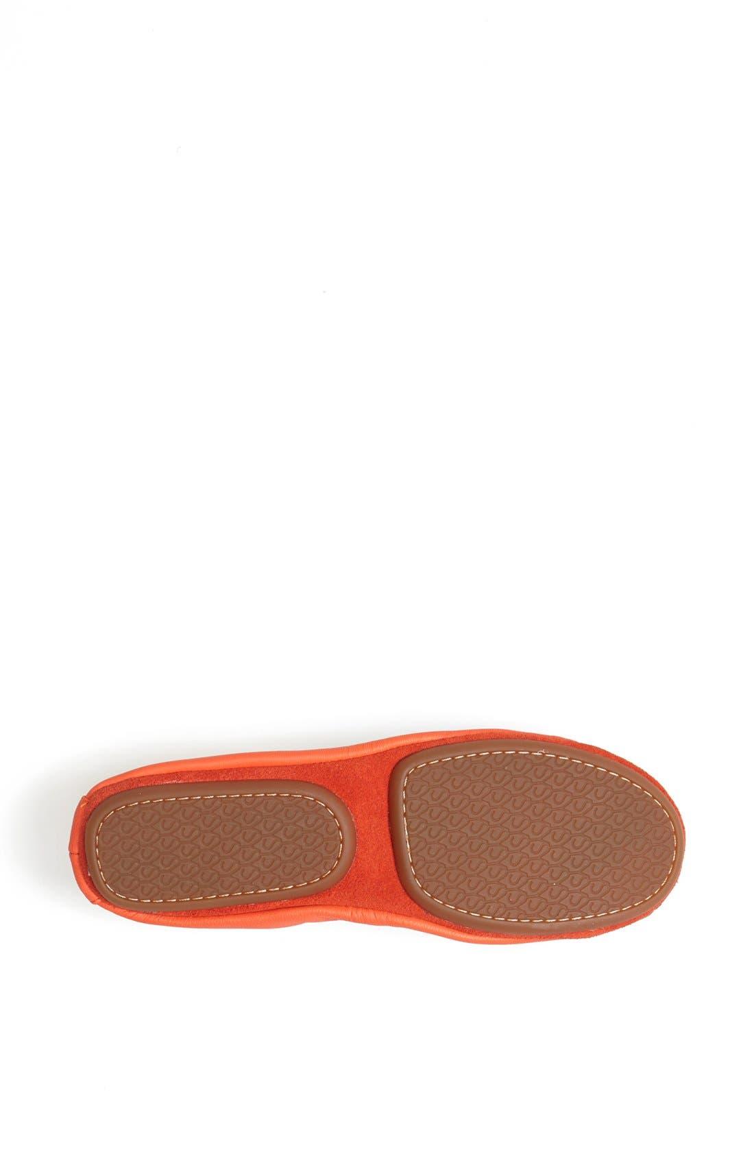 Alternate Image 4  - Yosi Samra Studded Cap Toe Foldable Ballet Flat