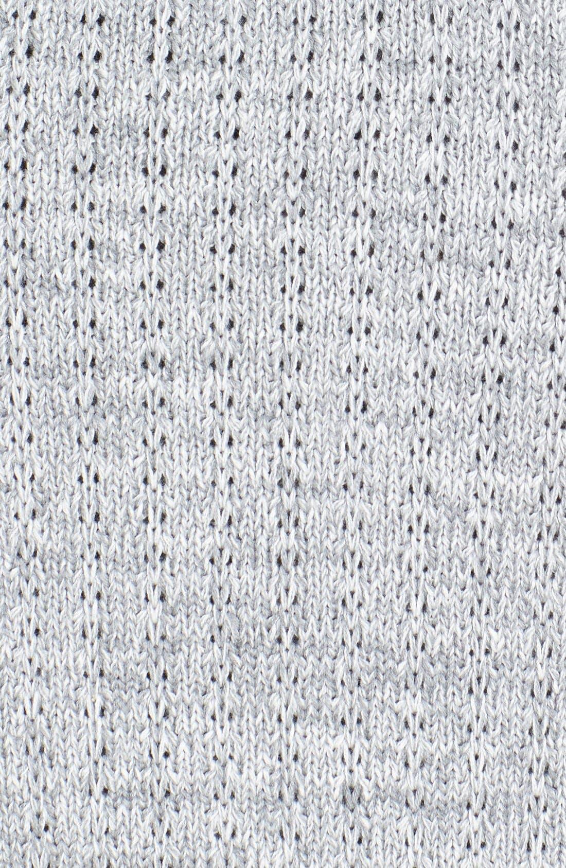 Alternate Image 3  - ZANEROBE 'Sloan' Cable Knit Shawl Cardigan