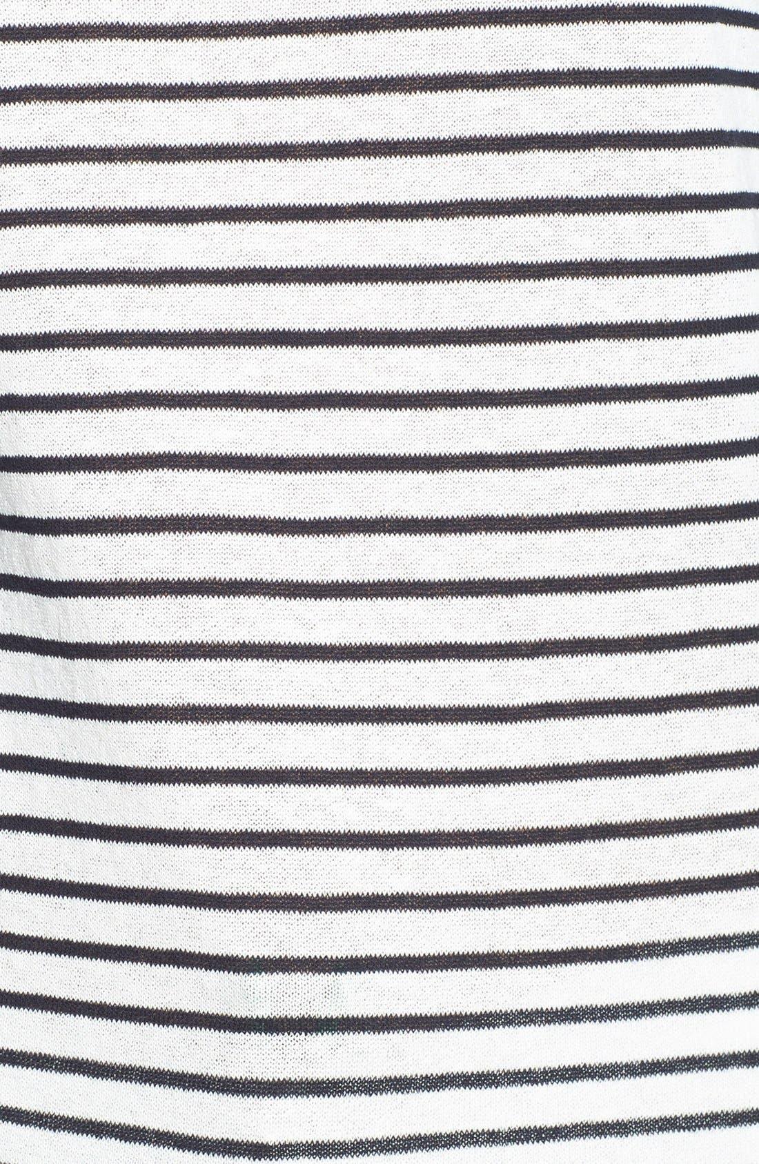 Alternate Image 3  - Tory Burch 'Kamila' Mixed Stripe Sweater