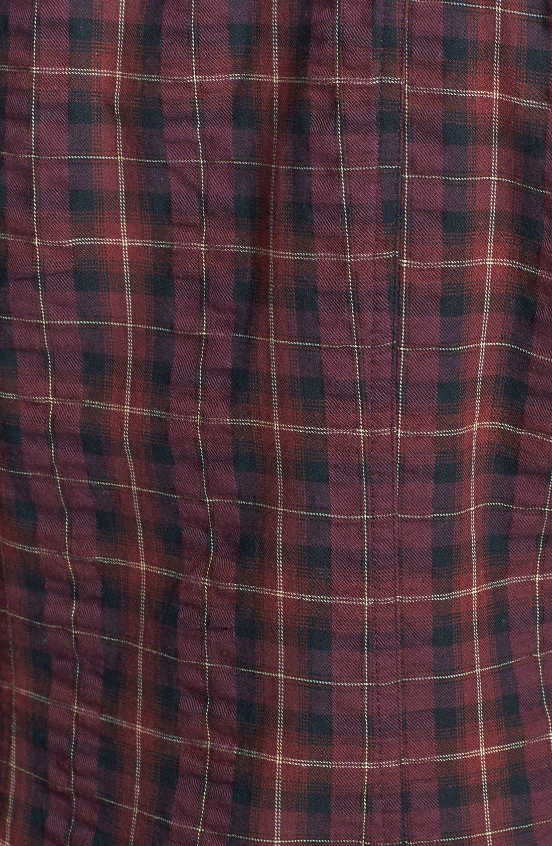 Alternate Image 3  - Sandra Ingrish Brushed Twill Tartan Shirt