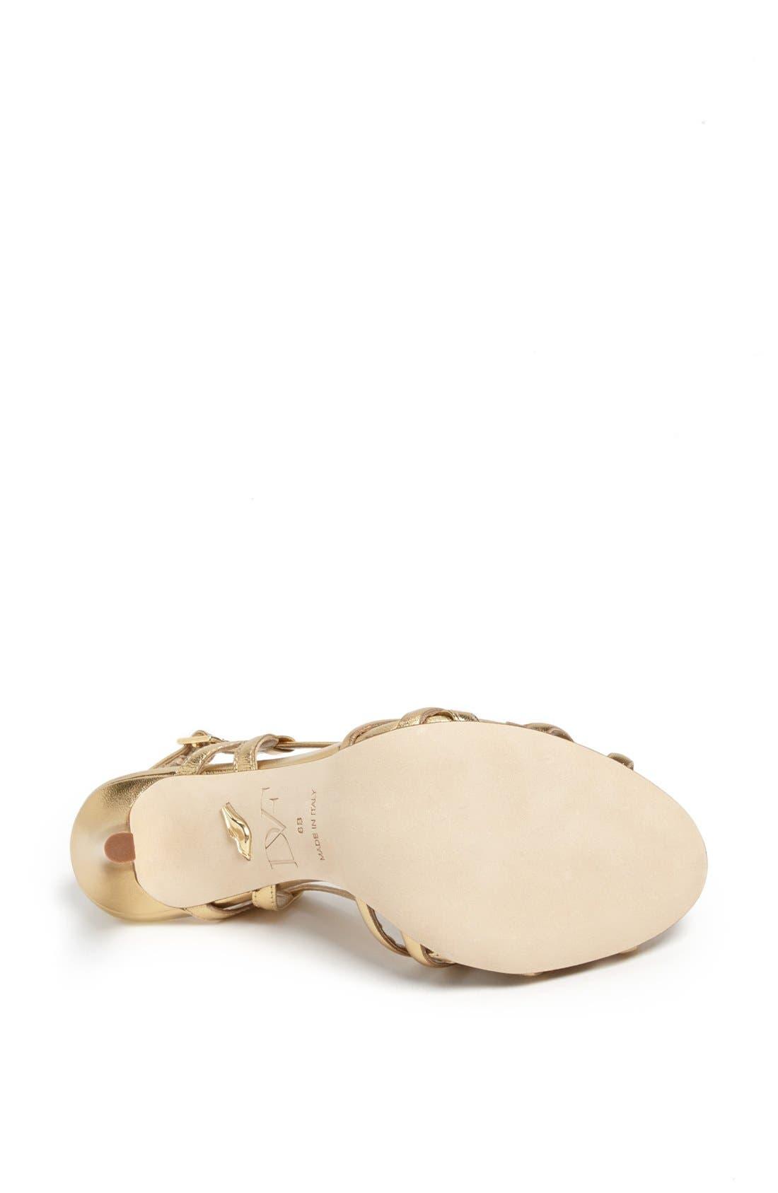 Alternate Image 4  - Diane von Furstenberg 'Upton' Metallic Leather Sandal