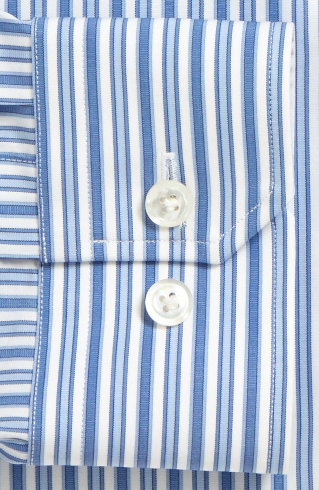 Alternate Image 2  - John W. Nordstrom® Signature Trim Fit Stripe Dress Shirt