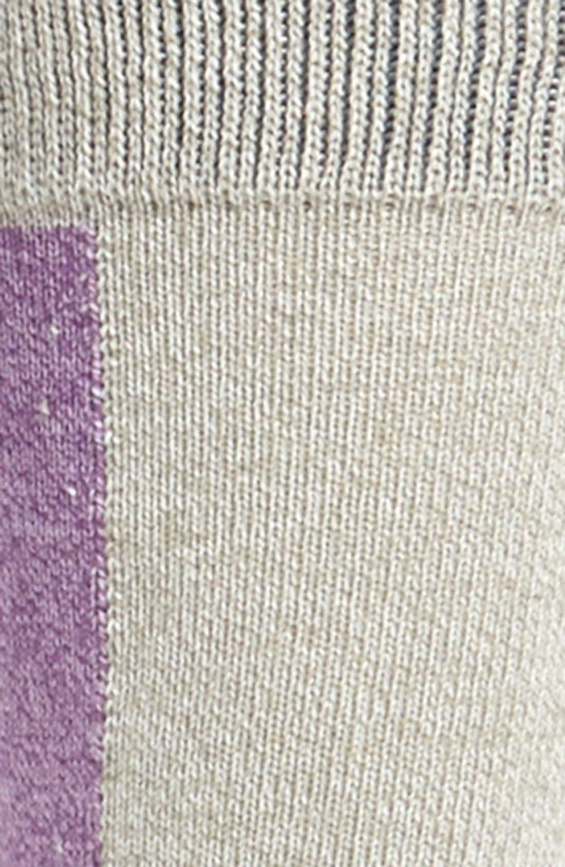 Alternate Image 2  - Mr. Gray Colorblock Socks
