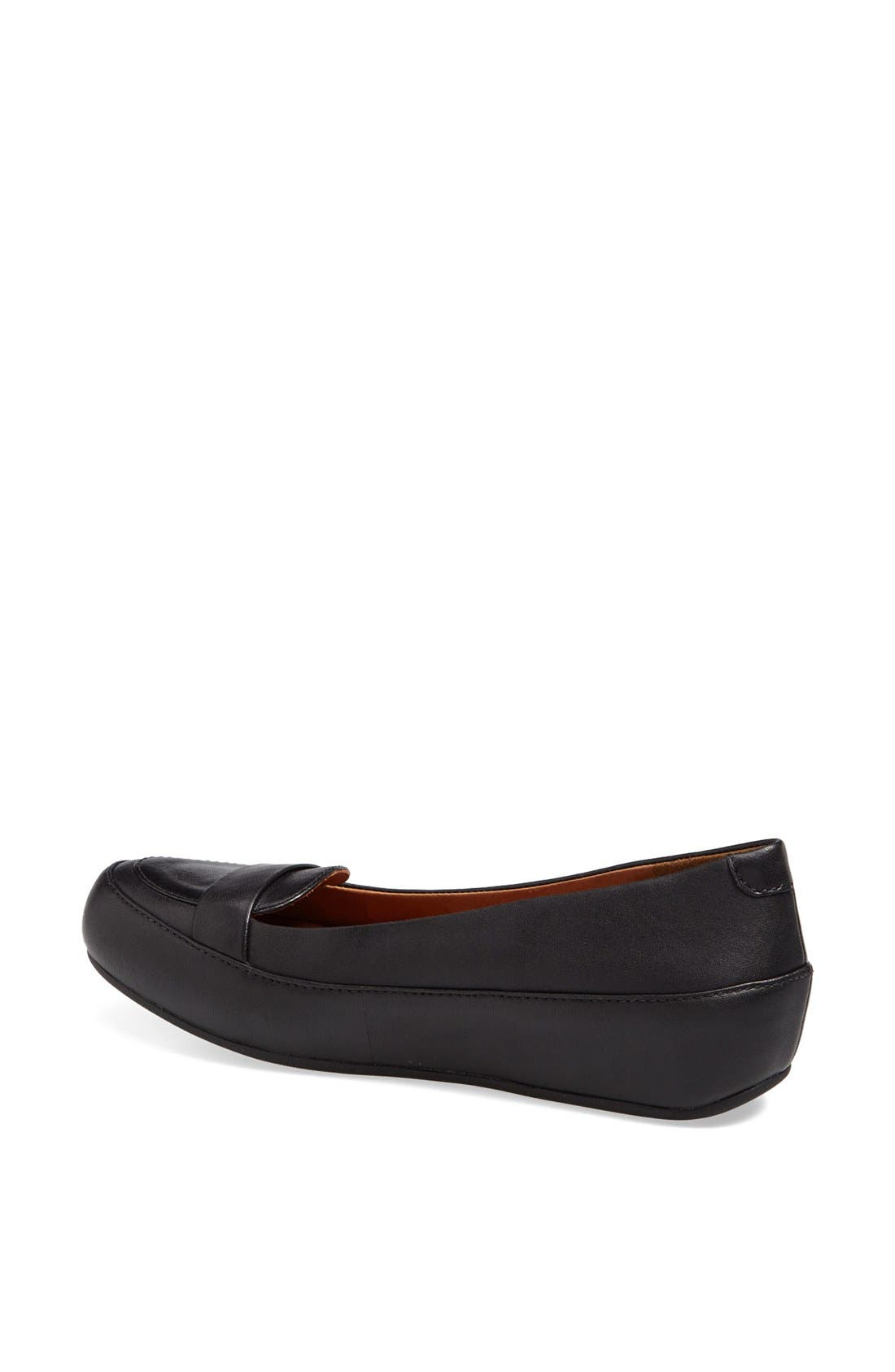 Alternate Image 2  - FitFlop 'Dué™ Pop' Leather Loafer