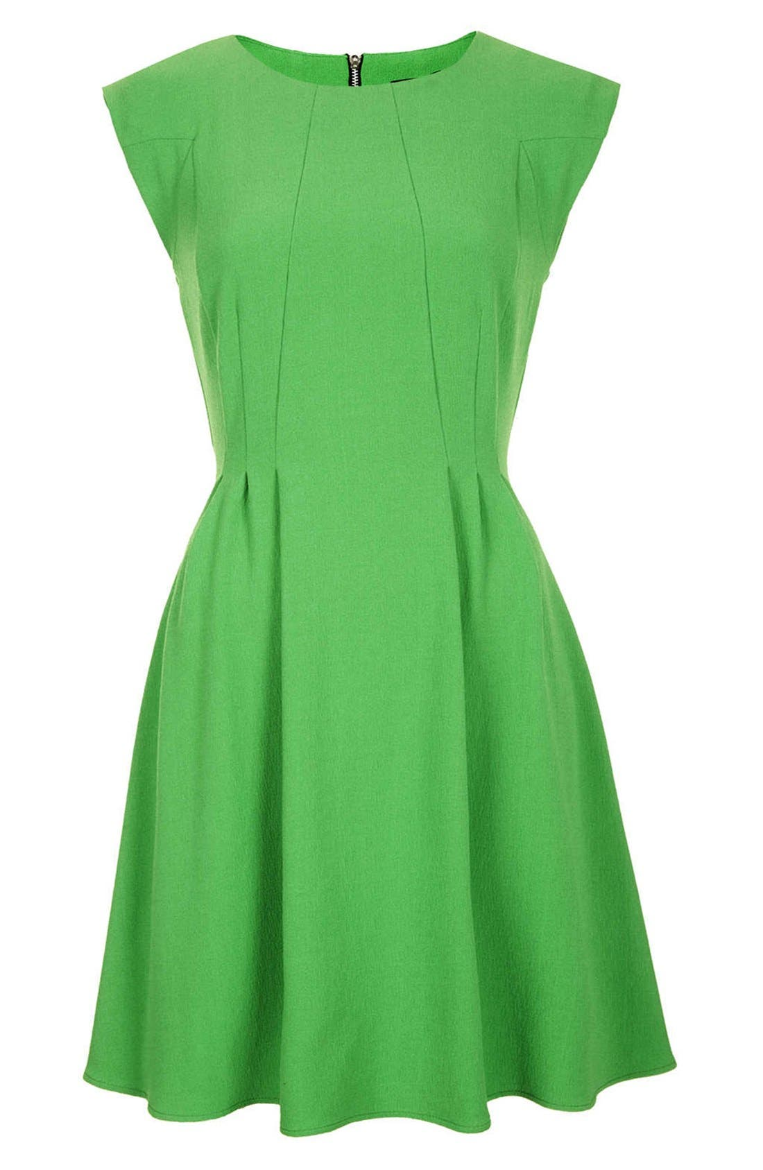 Alternate Image 3  - Topshop Crepe Fit & Flare Dress