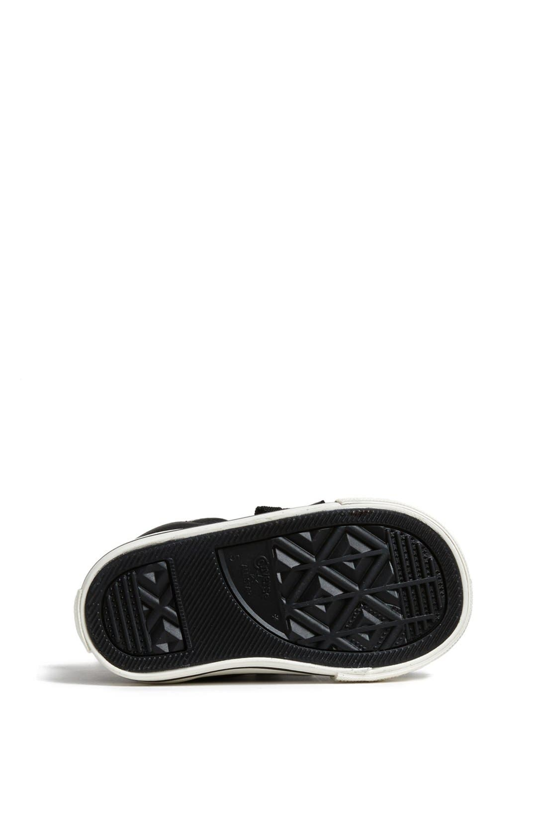 Chuck Taylor<sup>®</sup> All Star<sup>®</sup> 'CT AS Street' Leather Slip-On Sneaker,                             Alternate thumbnail 4, color,                             Black/ Tidal Foam