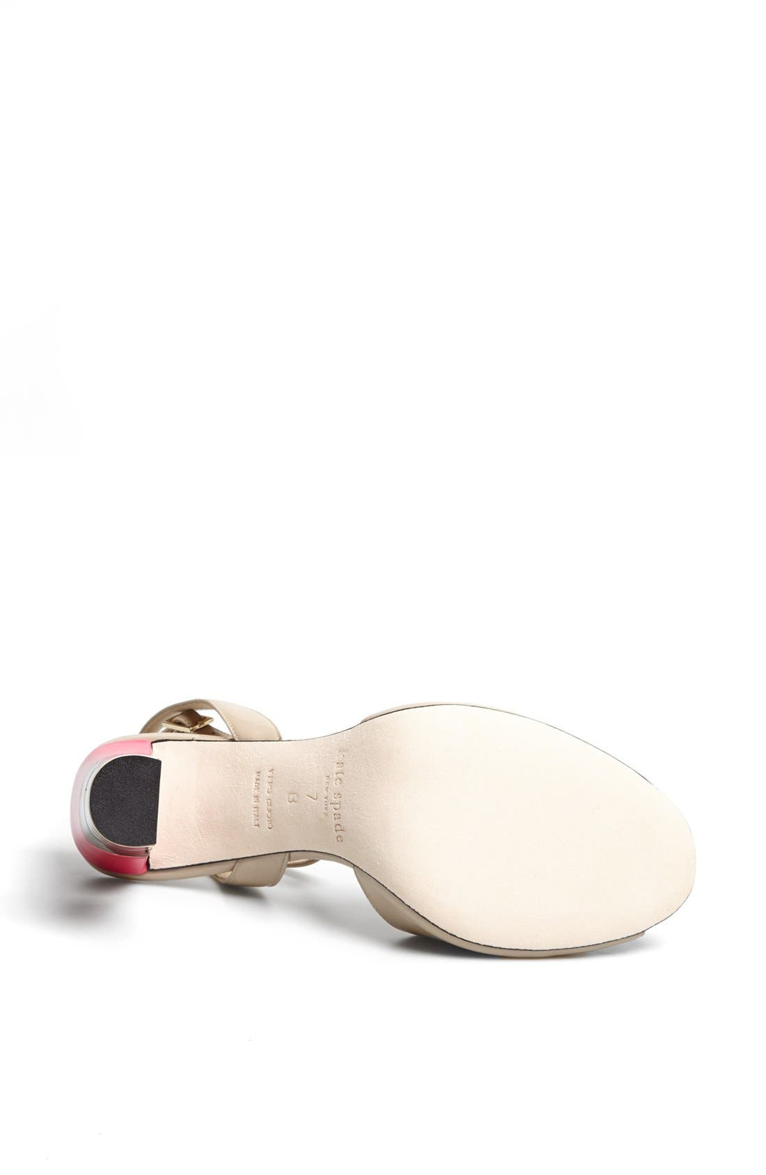 Alternate Image 4  - kate spade new york 'ice' leather sandal