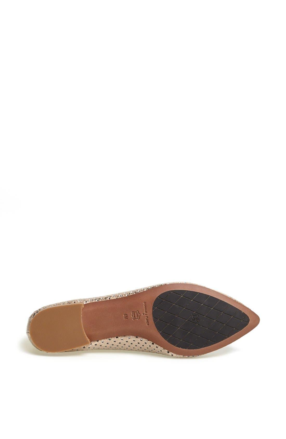 Alternate Image 4  - Donald J Pliner 'Ava' Pointed Toe Flat