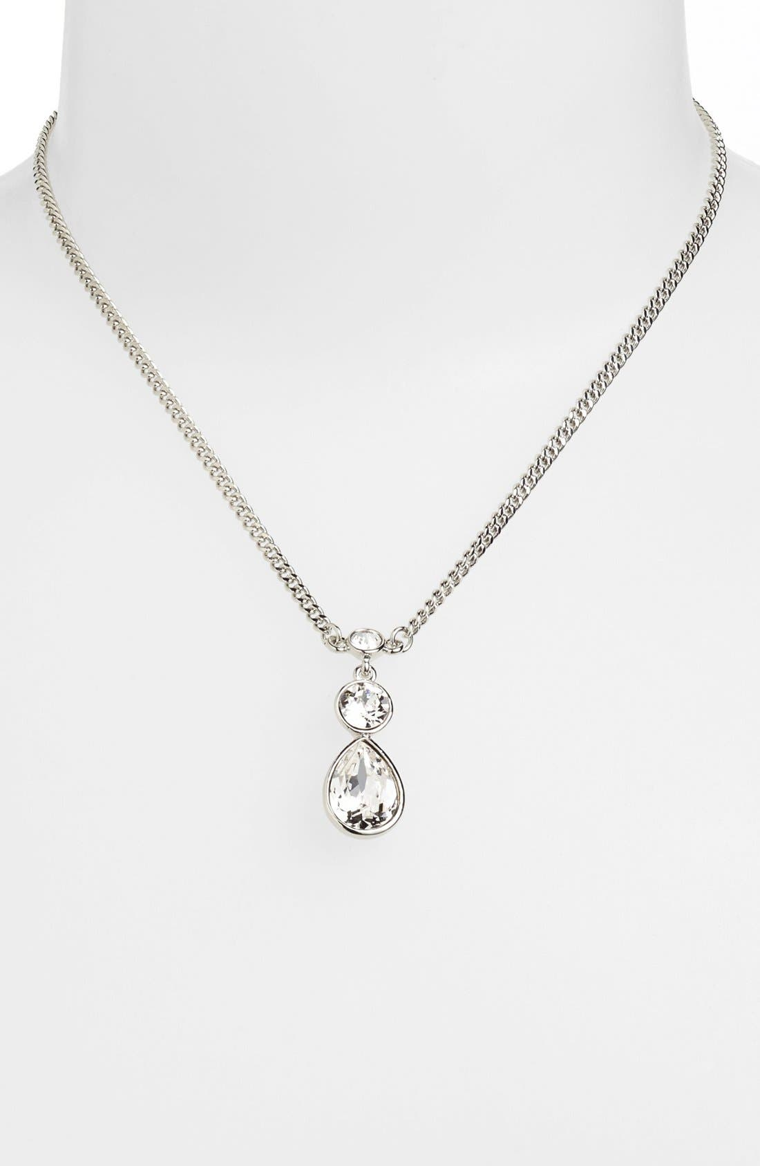 Alternate Image 1 Selected - Givenchy Crystal Pendant Necklace (Nordstrom Exclusive)