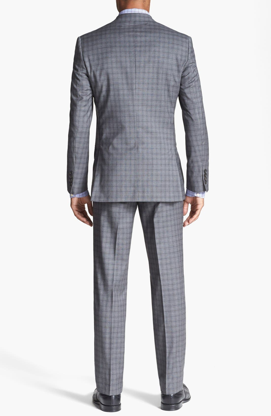 Alternate Image 2  - Ted Baker London 'Jones' Trim Fit Check Suit