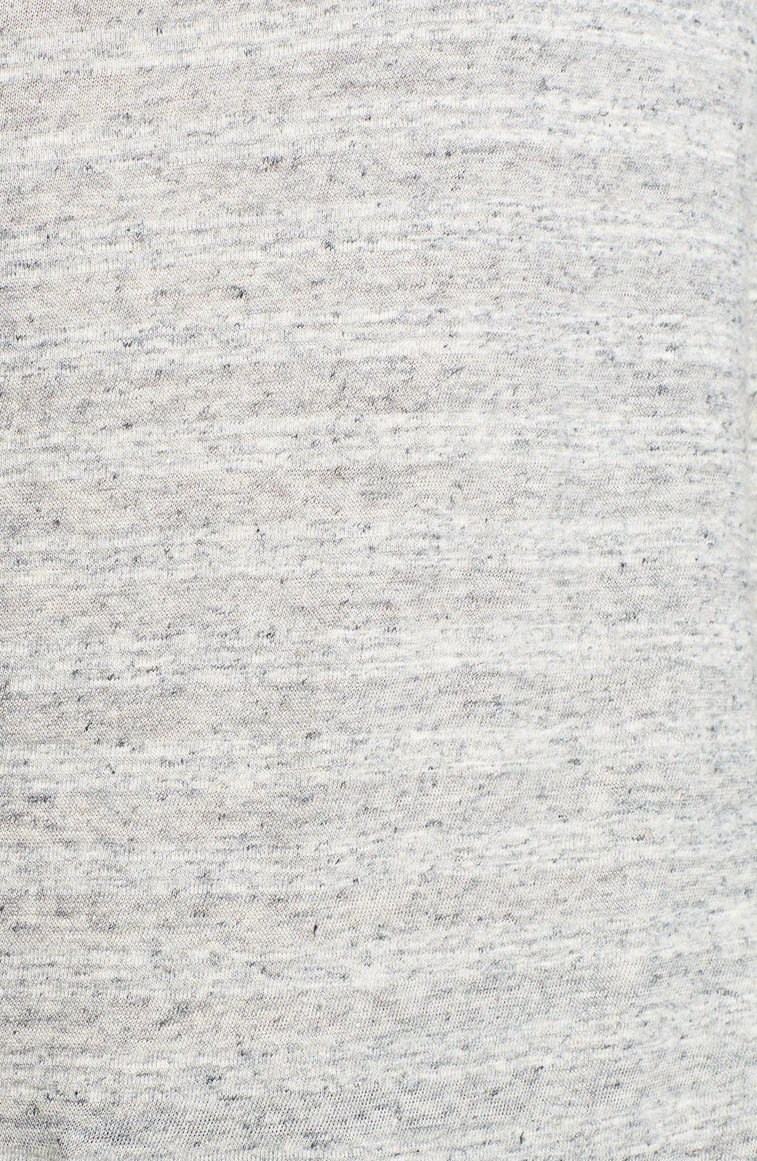 Alternate Image 3  - James Perse Stripe Funnel Neck Sweater