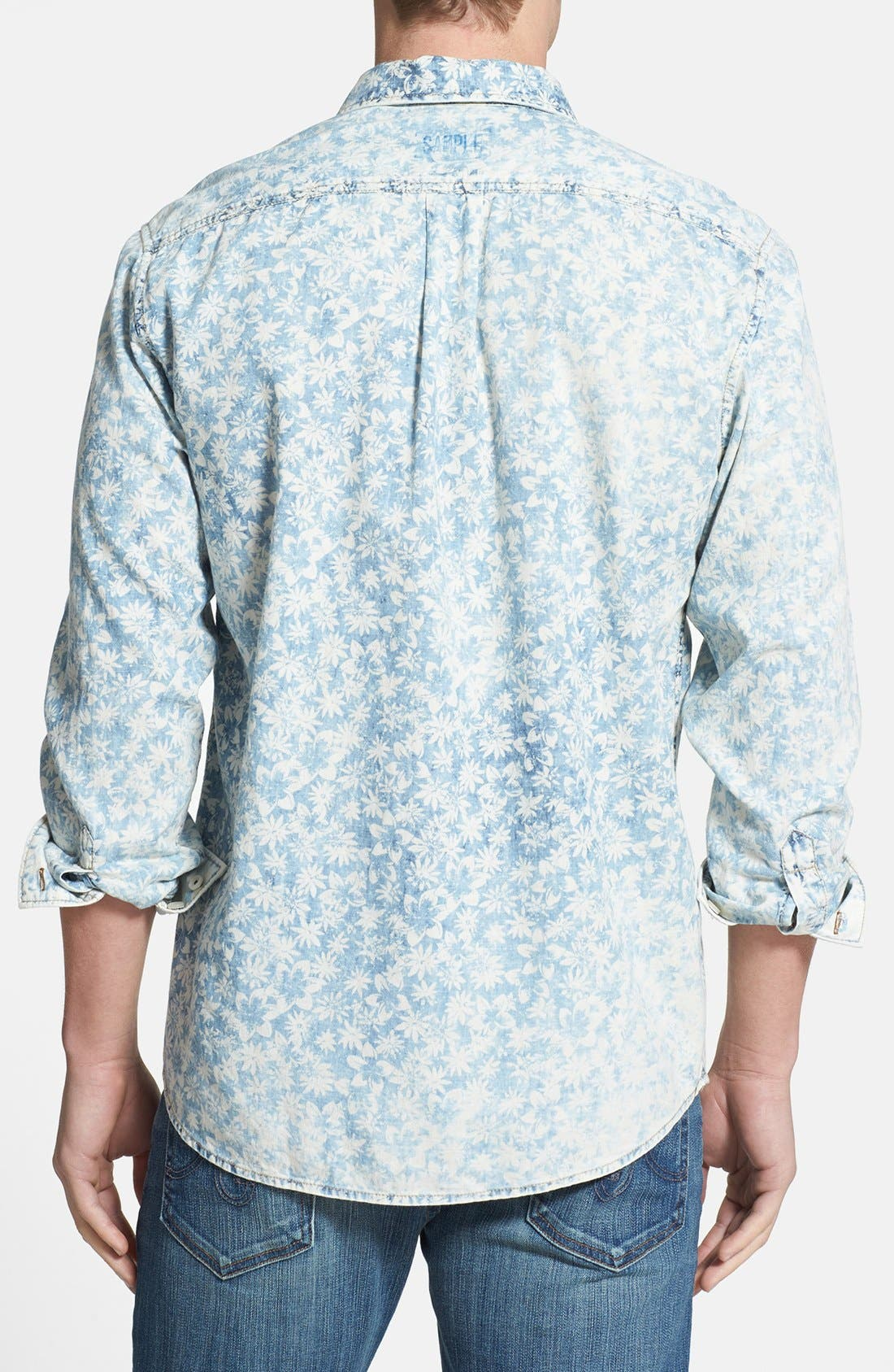 Alternate Image 2  - Tommy Bahama 'Fields Forever' Island Modern Fit Sport Shirt