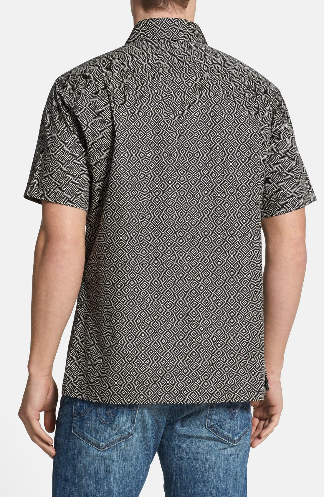 Alternate Image 2  - Tori Richard 'Hypnoweave' Classic Fit Sport Shirt