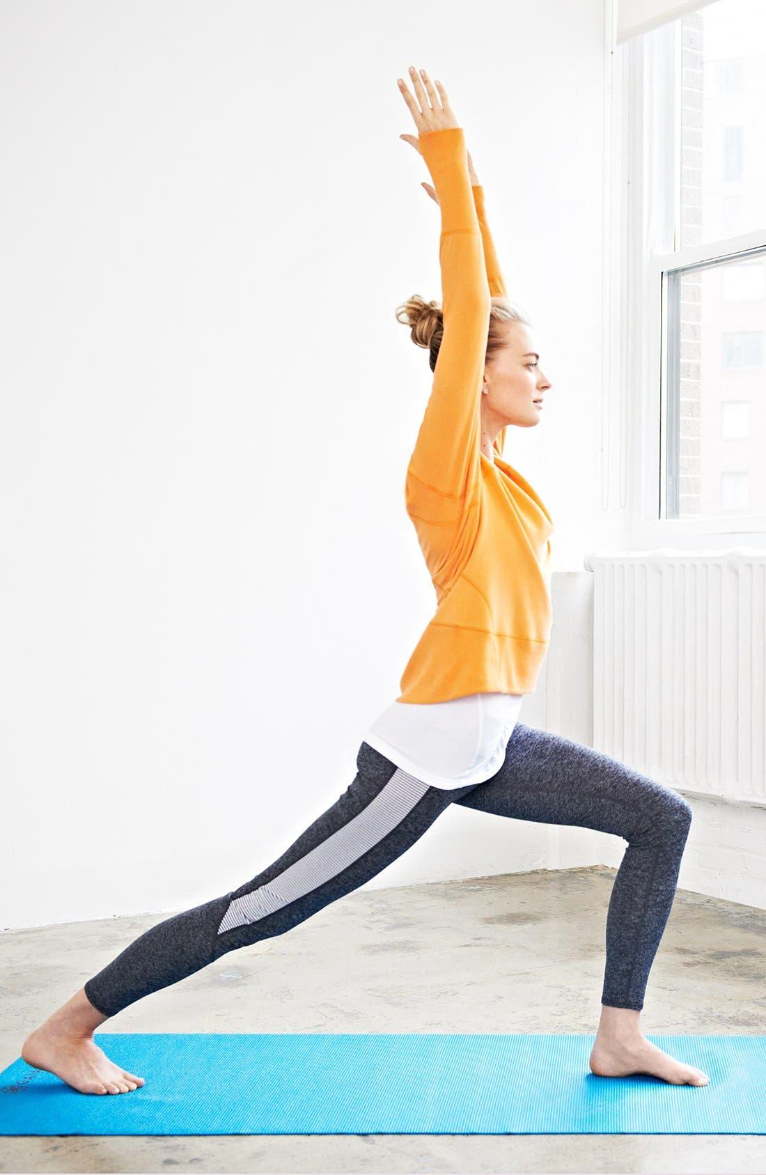 Alternate Image 2  - Zella Sweatshirt, Tee & Leggings