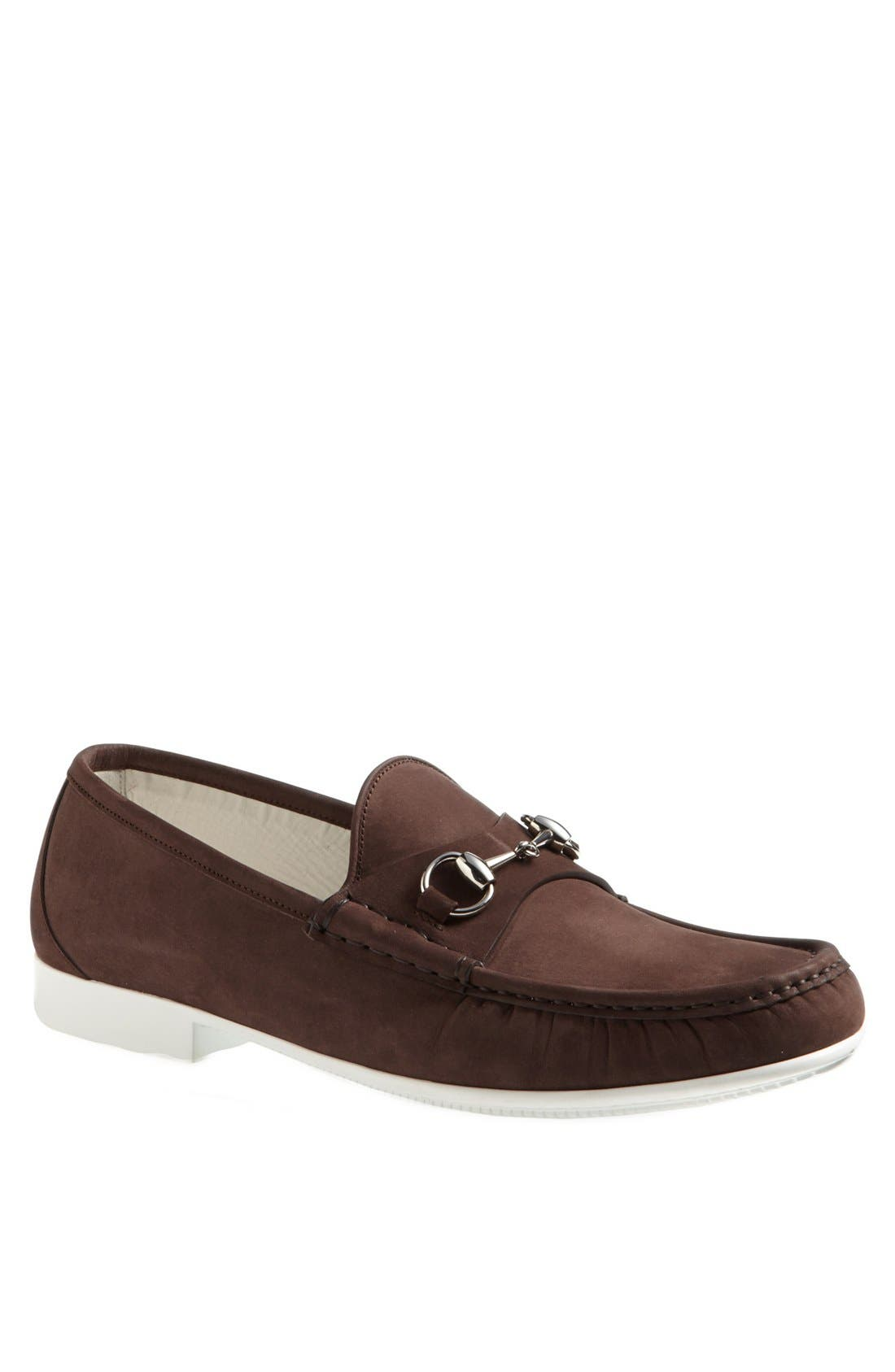 Alternate Image 1 Selected - Gucci 'Rafer' Bit Loafer