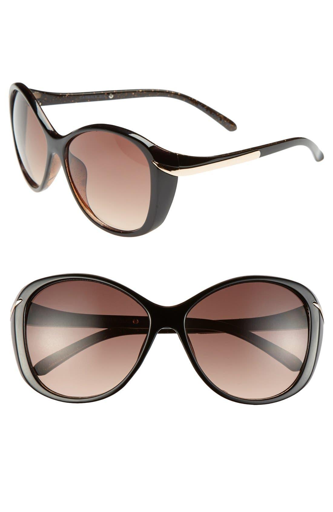 Alternate Image 1 Selected - Outlook Eyewear 'Catwalk' 56mm Sunglasses