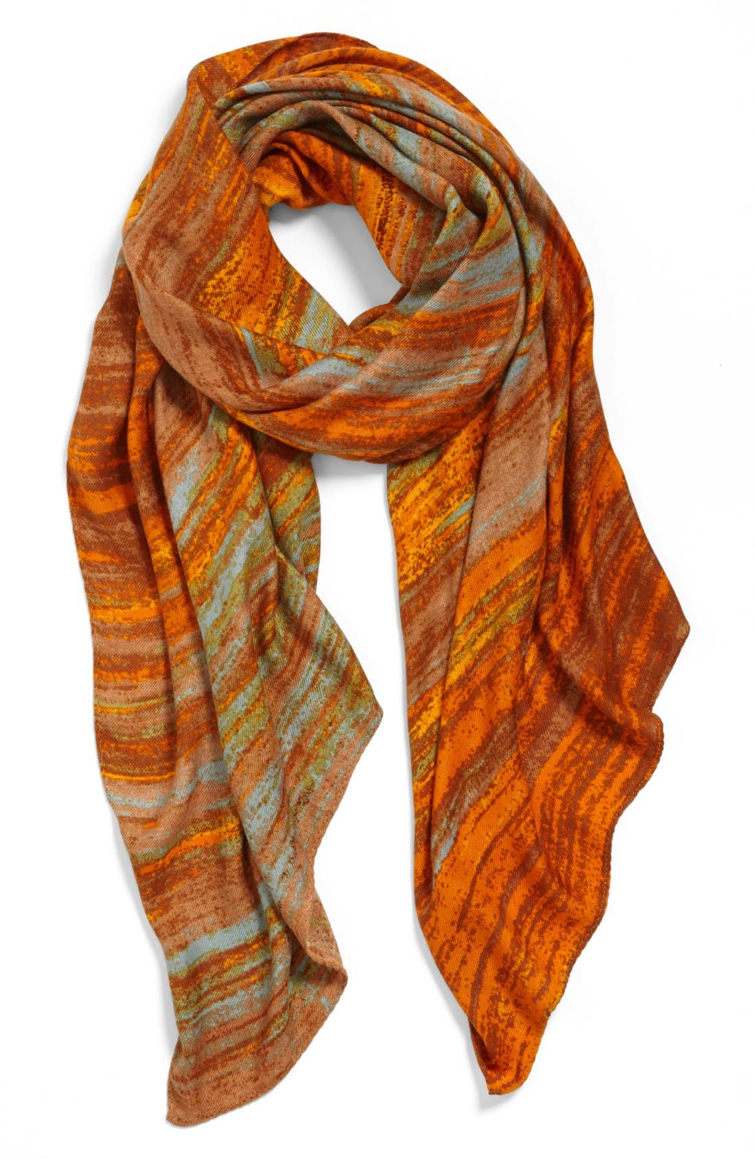 Main Image - Echo Textured Stripe Scarf