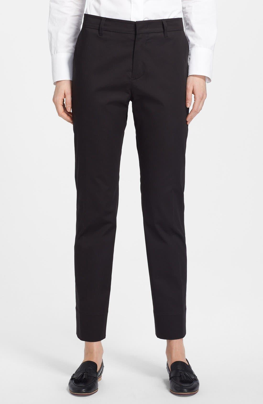 Alternate Image 1 Selected - Jil Sander Straight Leg Pants
