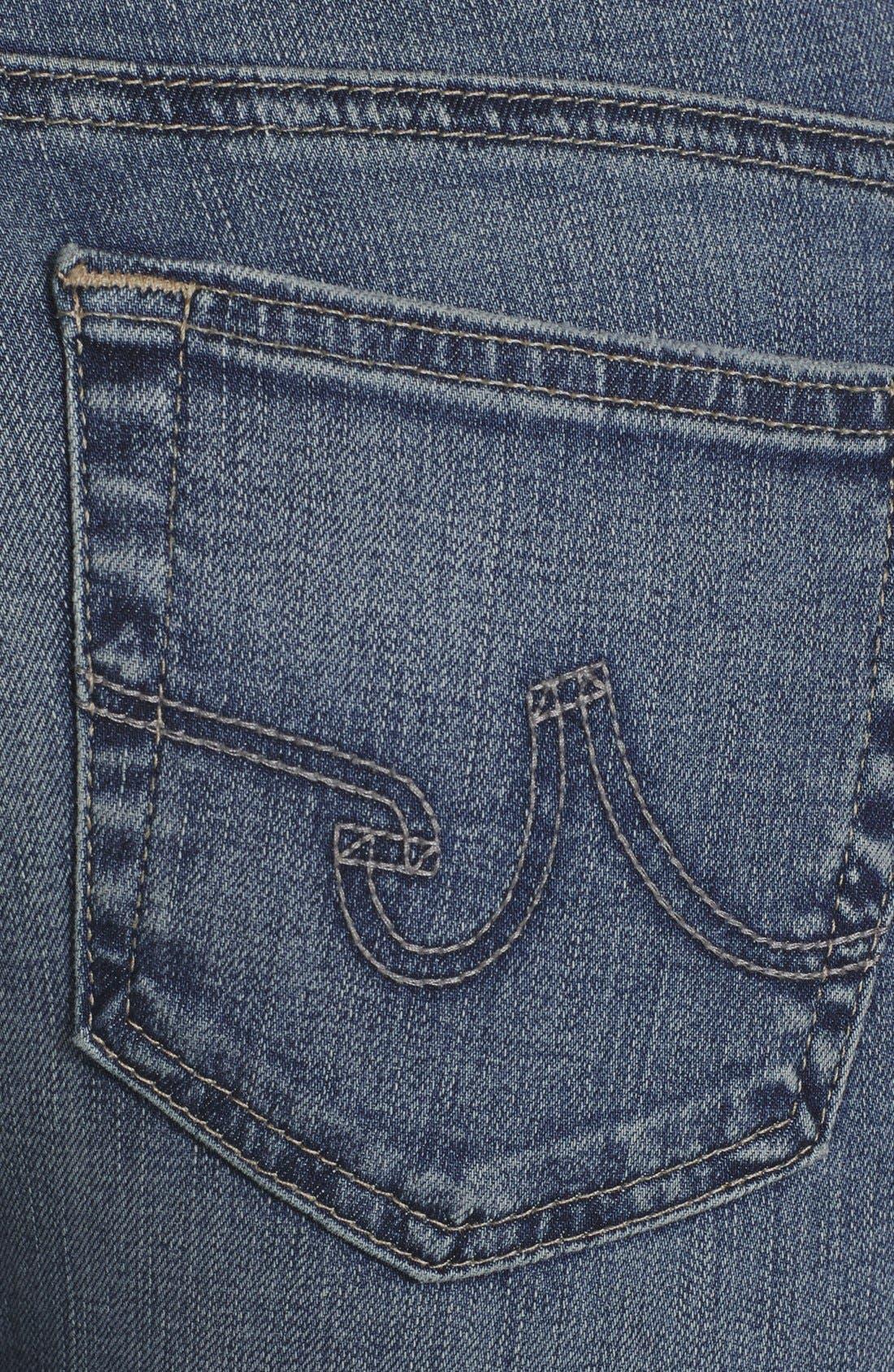 Alternate Image 3  - AG 'Aubrey' Skinny Straight Leg Jeans (Eighteenth Year)
