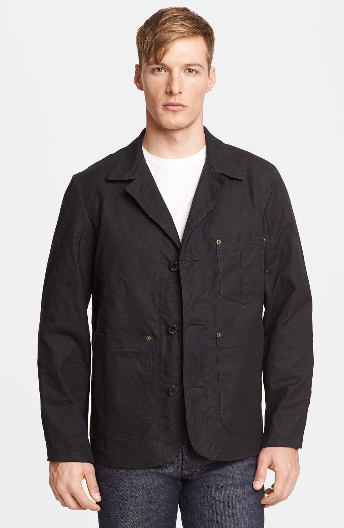 Alternate Image 2  - Billy Reid Waxed Cotton Quail Jacket